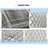Quality Galvanized Expandable Wire Mesh , Stucco Expanded Metal Lath for sale
