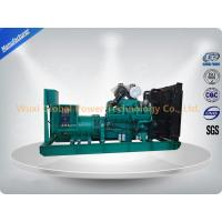 Quality Global Power 12-Cylinder in V 600 KW Cummins Generator Set Low Fuel Consumption for sale