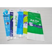Quality Colored plastic sanitary napkin Plastic Packaging Bags WITH Hand Length Handle for sale