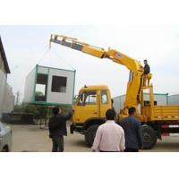 Quality Small Truck Mounted Crane Max Working Height 6.55 Meter , Construction Lifting Machinery for sale
