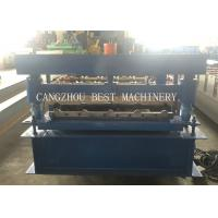 Buy cheap YX-840 3kw Formed Roof Sheet Roll Forming Machine 1000mm Width from wholesalers