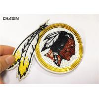 China 3 Tall Eco - Friendly Sequin Embroidery Patches For Woman Clothes on sale