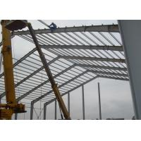 Lightweight Industrial Steel Structures , Shock Resistant Steel Structure Fabrication With Space Frames