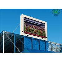 Buy cheap Outdoor SMD and SMD P6  Commercial RGB Led display Led Video Screen water proof cabinet from Wholesalers