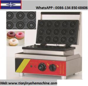 Quality TJ-6 15 Donuts/Batch Mini Donuts/Doughnut Baker Machine for sale