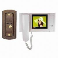 Quality B/W Color Electronic Video Doorbell for Villas, Working Voltage of 100 to 240V AC, 15V DC for sale
