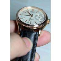 China crocodile leather strap band for brand watches on sale