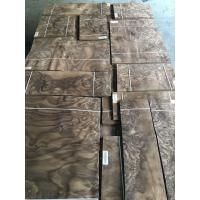 Quality Walnut Burl Veneer Walnut Burr Wood Veneer Burr Walnut Natural Veneers for Fine Furniture Veneer Marquetry for sale