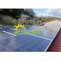 Quality OEM Flat Roof Solar Racking Stainless 12um for sale