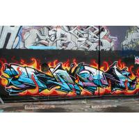 Quality Excellent Coverage Non fading Graffiti Spray Paint For Diffient Surface for sale