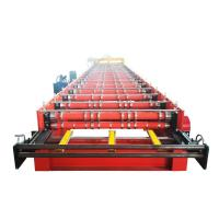 Buy Color Steel Sheet Metal Roll Forming Machines Galvanized Bias Roof Making at wholesale prices