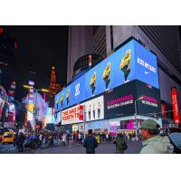 China High Resolution Outdoor LED Message Board P10 Pixel Pitch Low Power Consumption on sale