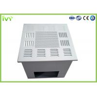 Quality Fan Powered Hepa Filter Diffuser , Custom Air Filter Box Air Supply Grille for sale