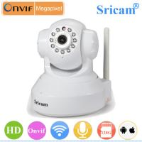 Quality Sricam SP012 H.264 Compression 128G MicroSD Card 720P wireless p2p ip camera software for sale