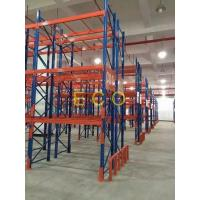 Quality Powder Coated Cold Rolled Steel Warehouse Storage Racks , Adjustable Pallet Storage Racks For Warehouse for sale
