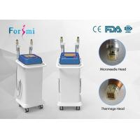 Quality Thermage RF Microneedle Machine 5Mhz high frequency machine painless process for sale