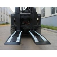 Quality Wheel Forks Forklift Truck Attachments For Lifting , Carbon Steel Pallet Fork Extensions for sale