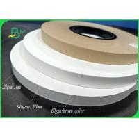 Buy cheap FDA approved straw paper 60gsm 120gsm Good stiffness for paper straw from wholesalers