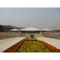 Quality Foldable Custom Event Tent With Double PVC Opaque Self Cleaning Cloths for sale