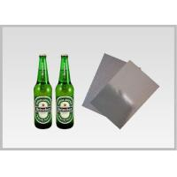 Quality Washable Silver Metallic Paper With Laser Holographic , Wood Pulp Material for sale