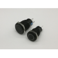 Quality IP65 Protection 5p 16mm Ring Illuminated Push Button Switch for sale