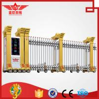 Quality Trackless Government Entrance Electric Retractable Automatic Expandable Gate L1510 for sale