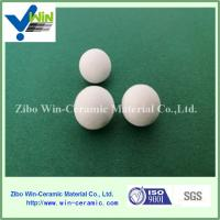 Quality high temperaturer resistance aluminum oxide ceramic balls catalyst support ball for sale