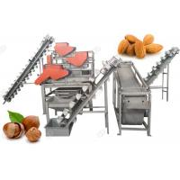 Quality Hazelnut Almond Shell Cracking Machine Manual Henan GELGOOG Machinery 1000kg/H for sale