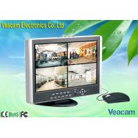 Quality 8CH CCFL Color LCD CCTV Monitors with USB 2.0 Port  for sale