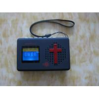 China Bible player mp3 player samll bible player on sale