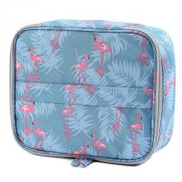 Quality Travel Oxford Cosmetic Waterproof Fabric Makeup Clutch Pouch Cosmetic and Toiletries Organizer PU Bag Travel for sale