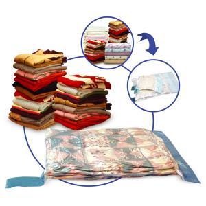 Quality PE Plastic Clothes Vacuum Bag, 130*100cm,130*90cm,  double slide zipper for sale