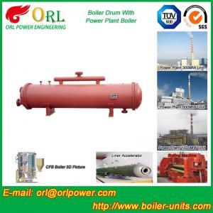 Cement industry steam boiler mud drum TUV