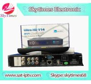 China HD Digital satellite tv Receiver free JB200 & WIFI JYNXBOX ULTRA HD V12 JYNXBOX ULTRA HD V14 on sale