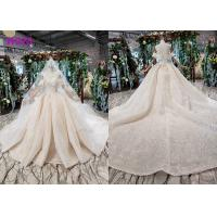 Quality High End Customize Off Shoulder Sequins Bridal Ball Gowns Vintage Luxury Wedding Dress for sale