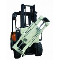 Buy Forklift Lifting Hook Attachments , Forklift Boom Attachment 55 Gallon Oil Drum Lifting Clamp at wholesale prices