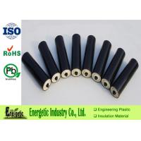 Quality 20mm -  800mm Precision Plastic Parts , Black Nylon Conveyor Roller for sale