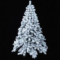 China Artificial PVC Christmas Tree with snow, Metal Stand, Sample are Available, 210cm Height on sale