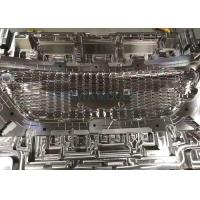 Quality Injection Plastic Auto Parts Mould For Attractive Finished Plastic Front Grille for sale