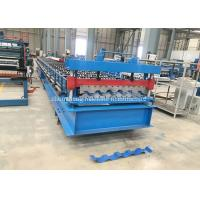 Buy cheap Trim Deck Profile Roof Wall Panel Roll Forming Machine 380v / Custom Volgate from wholesalers