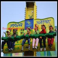 Quality Great fun & thrilling amusement rides frog jumping for sale