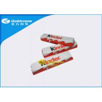 Quality Aluminum Chocolate Foil Wrappers , Candy Bar Foil Wrappers / Squares For Wrapping Chocolates for sale