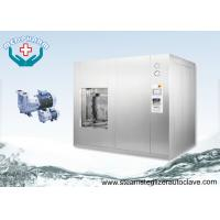 China Horizontal Sliding Door 1500 Liters Stainless Steel Pass Through Sterilization Cycle Autoclave on sale