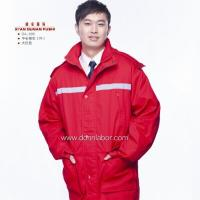 Quality CE Certificated 100% Cotton Material Winter Work Uniform for sale
