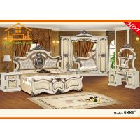 Quality Hand carved wooden latest design furniture sofa bed Hot recommend royal antique white bedroom furniture sets for sale