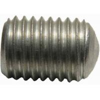 Quality Custom Aluminum Set Screw With Oval - Flat Point Made By Die Casting Mold for sale