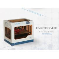 Quality F430 Direct Wire Feeding CreatBot 3D Printer 1.75mm Filament High Accuracy for sale