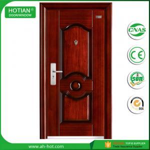 Exterior Steel Door with Mul-T-Lock China Turkish Steel Security