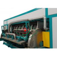 Quality 6000Pcs/H Automatic Recycled Paper Egg Tray Machinery Rotary Forming for sale