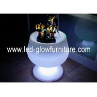 Quality Eco - Friendly Waterproof LED Ice Bucket With 16 Colors Changing for Wedding , Pool for sale